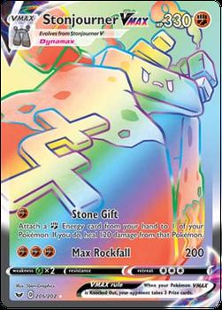 SWSH01-205/202 Stonjourner VMAX (Secret)