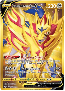 SWSH01-212/202 Zamazenta V (Secret)