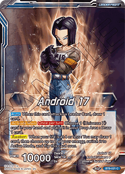 BT9-021C Android 17 // Android 17, Universal Guardian Foil