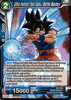 BT09-026C Ultra Instinct Son Goku, Battle Mastery Foil