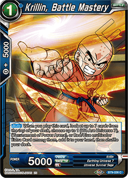 BT09-028C Krillin, Battle Mastery Foil