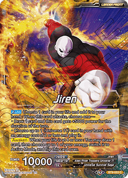 BT9-053C Jiren // Full-Power Jiren, the Unstoppable Foil