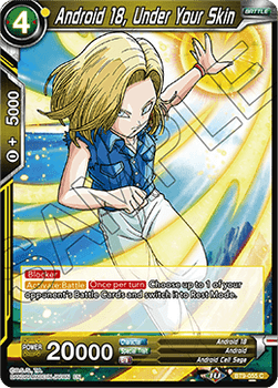 BT09-055C Android 18, Under Your Skin Foil