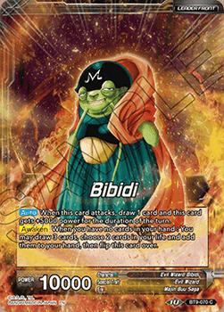 BT9-070C Bibidi // Majin Buu, One with Nothingness Foil