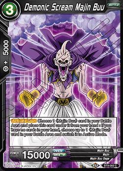 BT09-083C Demonic Scream Majin Buu Foil
