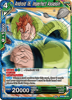 BT09-098UC Android 16, Imperfect Assassin Foil