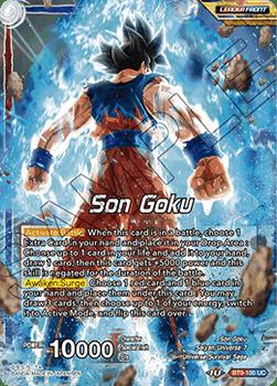 BT9-100UC Son Goku // Ultra Instinct Son Goku, Limits Surpassed Foil