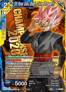 P-206P SS Rose Goku Black, Divine Prosperity