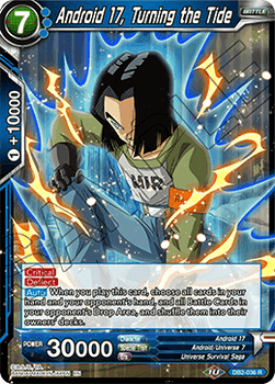 DB2-036R Android 17, Turning the Tide