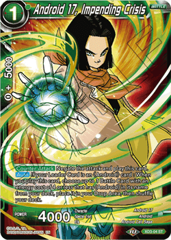 XD3-04ST Android 17, Impending Crisis