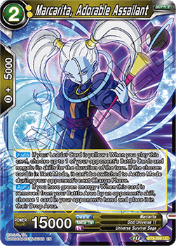 BT9-066UC Marcarita, Adorable Assailant Prerelease Stamp