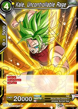 DB2-102UC Kale, Uncontrollable Rage Draft Tournament Stamp