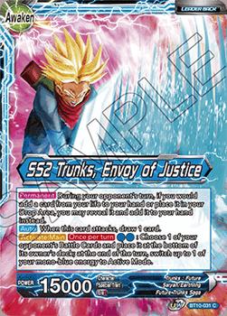 BT10-031C Trunks // SS2 Trunks, Envoy of Justice Foil