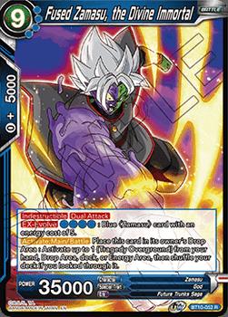 BT10-052R Fused Zamasu, the Divine Immortal Foil