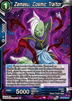 BT10-054C Zamasu, Cosmic Traitor Foil
