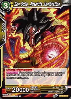 BT10-097R Son Goku, Absolute Annihilation Foil