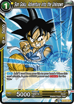 BT10-099UC Son Goku, Adventure into the Unknown Foil