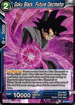 BT10-051R Goku Black, Future Decimator Prerelease Stamp