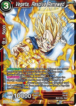 EX13-04 Vegeta, Resolve Renewed