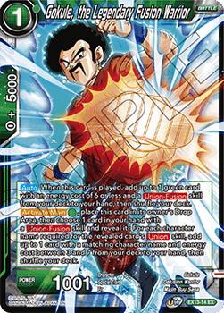 EX13-14 Gokule, the Legendary Fusion Warrior