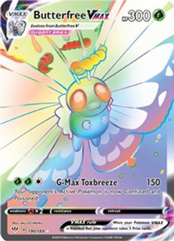 SWSH03-190/189 Butterfree VMAX (Secret)