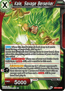 BT11-004R Kale, Savage Berserker Foil