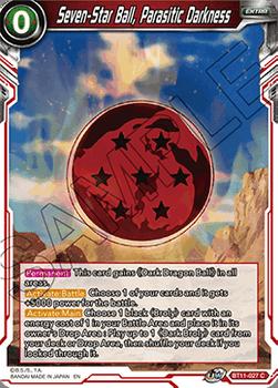 BT11-027C Seven-Star Ball, Parasitic Darkness Foil