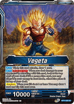 BT11-032UC Vegeta // SS4 Vegeta, Ultimate Evolution Foil