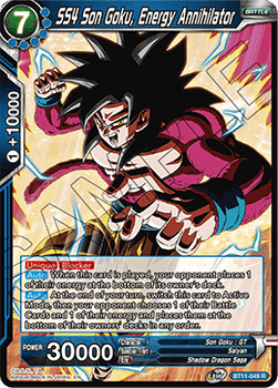 BT11-049R SS4 Son Goku, Energy Annihilator Foil