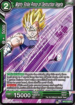 BT11-068R Mighty Strike Prince of Destruction Vegeta Foil