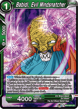 BT11-071UC Babidi, Evil Mindsnatcher Foil