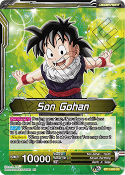 BT11-091UC Son Gohan // Son Gohan & Hire-Dragon, Boundless Friendship Foil