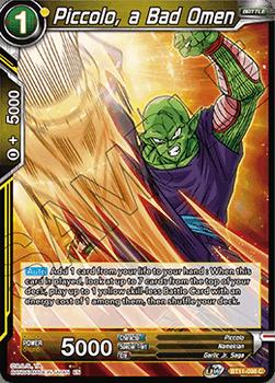 BT11-098C Piccolo, a Bad Omen Foil