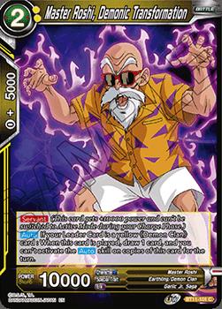 BT11-101C Master Roshi, Demonic Transformation Foil