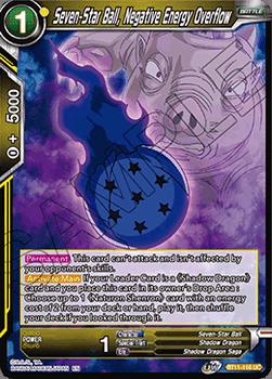 BT11-116UC Seven-Star Ball, Negative Energy Overflow Foil