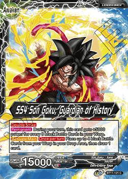 BT11-121C Son Goku // SS4 Son Goku, Guardian of History Foil