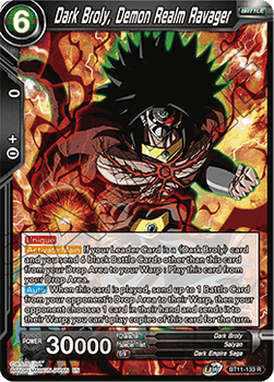 BT11-133R Dark Broly, Demon Realm Ravager Foil