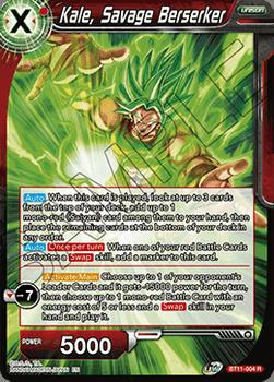 BT11-004R Kale, Savage Berserker Prerelease Stamp Foil