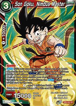 DB3-003SR Son Goku, Nimbus Master