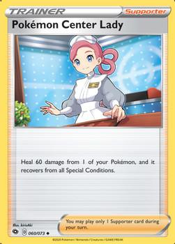 SWSH03.5-60/73 Pokemon Center Lady Rev Holo