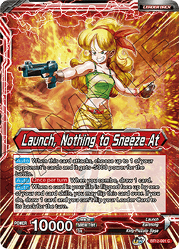 BT12-001C Launch // Launch, Nothing to Sneeze At Foil