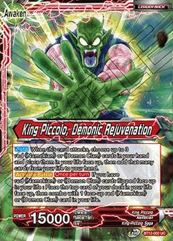 BT12-002UC King Piccolo // King Piccolo, Demonic Rejuvenation Foil