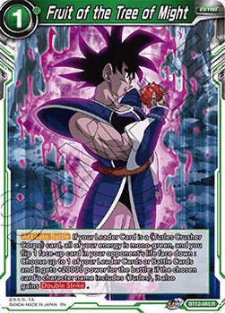 BT12-083R Fruit of the Tree of Might Foil