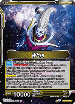 BT12-085C Whis // Whis, Godly Mentor Foil