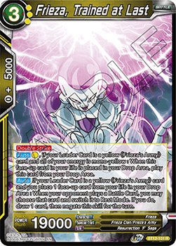 BT12-101R Frieza, Trained at Last Foil