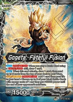 BT12-122UC Son Goku & Vegeta // Gogeta, Fateful Fusion Foil