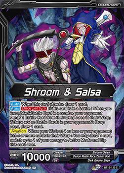 BT12-123C Shroom & Salsa // Shroom & Salsa, Might of the Demon Gods Foil
