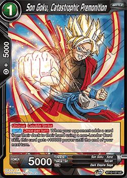BT12-127UC Son Goku, Catastrophic Premonition Foil