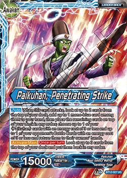 BT12-027UCPS Paikuhan // Paikuhan, Penetrating Strike Prerelease Stamp Foil