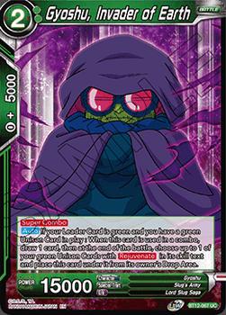 BT12-067UCPS Gyoshu, Invader of Earth Prerelease Stamp Foil